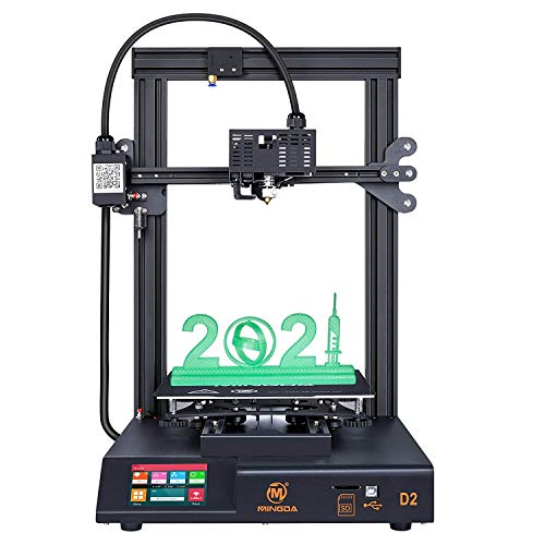 MINGDA 3D Printer D2 with Dual Z, Direct Drive Extruder, TMC2208 Silent Board, Filament Detector,...