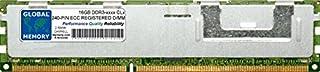 16GB DDR3 800/1066/1333/1600/1866MHz 240-PIN ECC REGISTRADO DIMM (RDIMM) Memoria RAM para SERVIDORES/Estaciones DE Trabajo/Placas Base (2 Rank CHIPKILL)