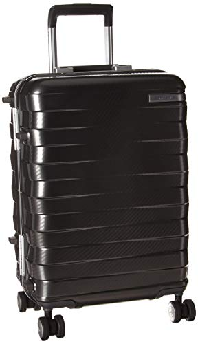 Samsonite Framelock Hardside Expandable with Spinner Wheels, Dark Grey, Carry-On 20-Inch