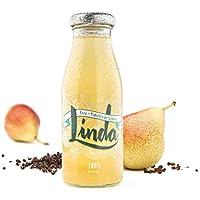 Linda - Refrescos 100% Naturales (Pera + Pimienta de Sichuan, 24 unidades)