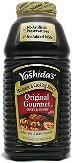 Mr. Yoshida's Gourmet Sauce, 86 Fluid Ounce.