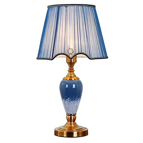 SACYSAC keramische tafellamp slaapkamer bedlampje thuis woonkamer studie grote oosterse keramische tafellamp