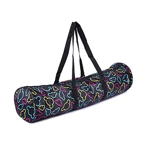 Shenykan Mochila de Yoga Transpirable Bolsa de Esterilla de Yoga Mochila Impermeable Nylon Pilates Carrier Correa Ajustable Herramienta Deportiva