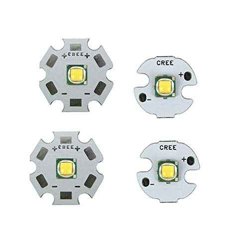 10W CREE Single XML LED T6 High Power LEDs weißer Chip mit 20 mm PCB für DIY Coolwhite