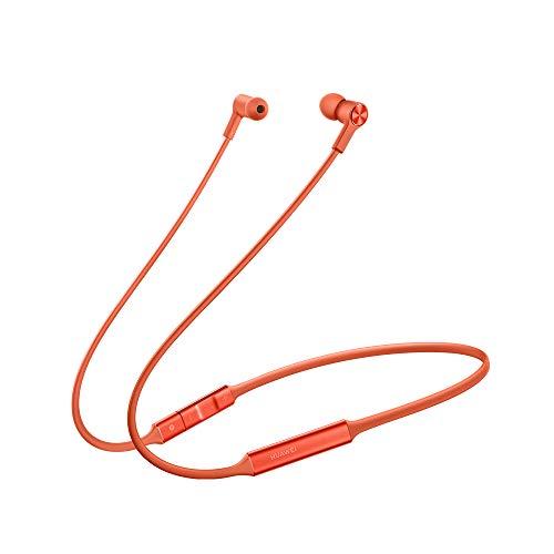 Huawei FreeLace CM70-C - Cuffie Bluetooth ultraleggere, con HiPair, colore: Arancione