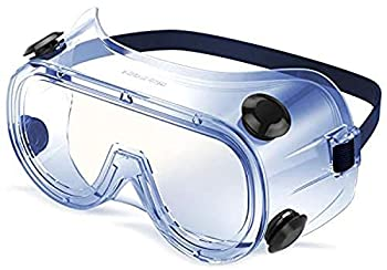 HULISLEM G8 Safety Goggles Over GLASSES For Eye Protection