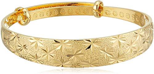 Women Plated Gold Bracelet Lady Bangle Jewellery Adjustable Luxury Dress Beautiful Bracelet for Women