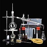 XFY Unidad de Destilación de Destilador, Equipo de Destilación Pequeño Adecuado para Suministros de Laboratorio de Cienci, Equipo de Enseñanza