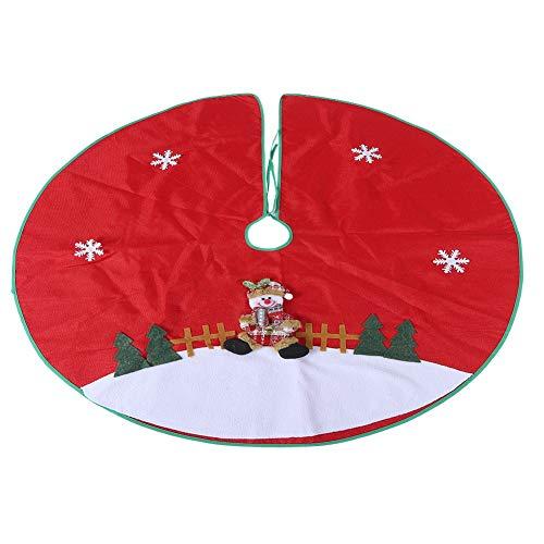 Navidad Decoración Arbol Falda Marca Natruss