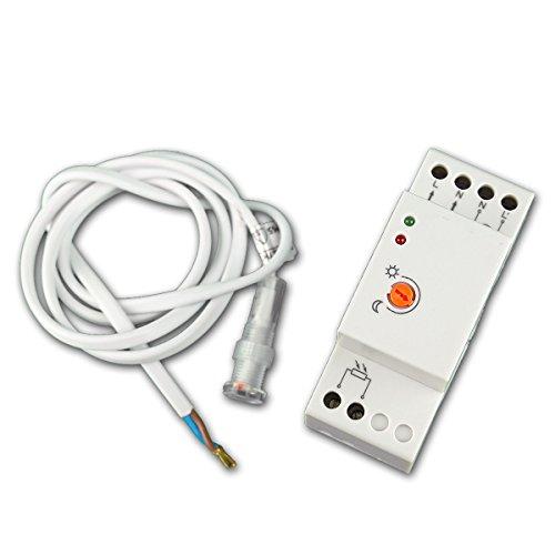 Interruptor crepuscular, montaje en panel, IP65, 230V