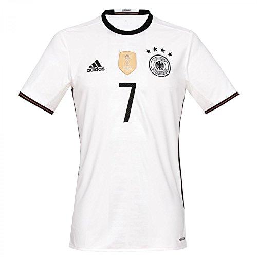adidas Herren Trikot DFB Home Jersey Schweinsteiger, White, S
