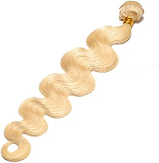 #613 Brazilian Blonde Hair Extensions Body Wave 100% Real Human Hair, 30 Inch 1 Piece/lot