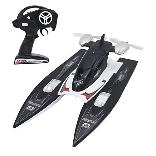 LZH FILTER Barco RC 2,4 G 30 Km/H 7,4 V 800 MAH Juguete de Modelos de Vehículos de Barco RC de Control Remoto de Alta Velocidad con Mando a Distancia