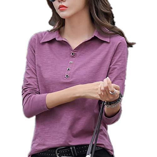 Tシャツ レディース 長袖 カットソー ロング パイピングデザイン 002