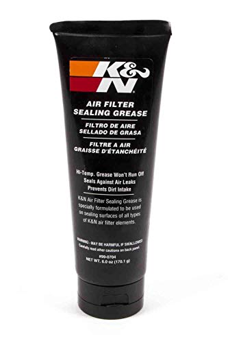 K&N Sealing Grease: 6 Oz; Prevents Air Leaks with Airtight Fit; 99-0704