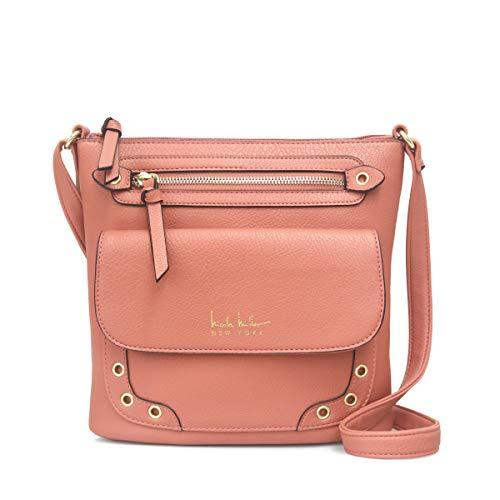 Nicole Miller Handbags Katie Medium Crossbody in Vintage Rose