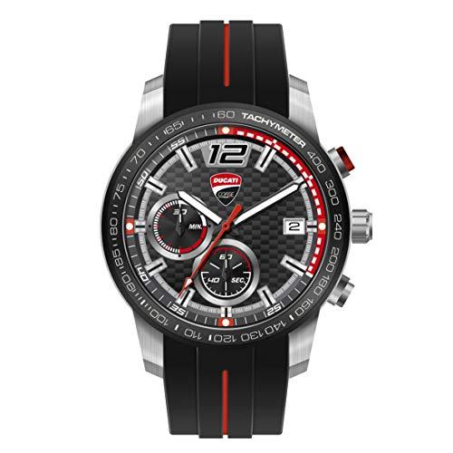 Ducati Corse Redline Quarz-Chronograph Armbanduhr Uhr