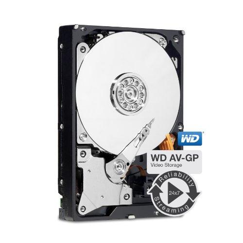 Western Digital WD30EURS AV-GP 3TB interne Festplatte (8,9 cm (3,5 Zoll), 5400 rpm, 64MB Cache, SATA II)