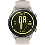 【日本正規代理店品】Xiaomi Mi Watch Miスマートウォッチ スポーツフィットネス腕時計 32g軽量設計 GPS運動記 録着信通知 (ベージュ)