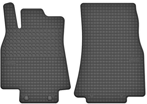 Motohobby Gummimatten Vorne Gummi Fußmatten Satz für Mercedes-Benz A-Klasse W169 (2004-2012) / B-Klasse W245 (2005-2011)