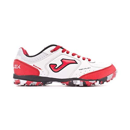 Joma – Top Flex 2022 – voetbalschoenen voor heren – voetbalschoenen 5 – wit/rood