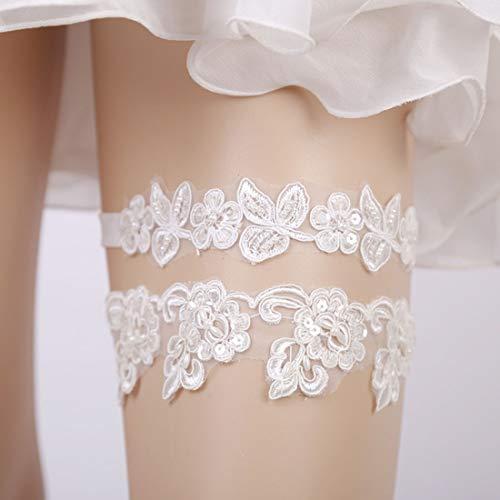 FENXIMEI Bruidsjurk been sokken mesh gaas ring westerse stijl sokken bruiloft decoratie prinses sokken