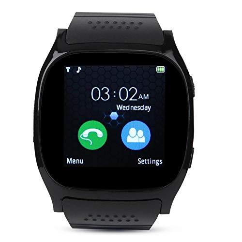 SALUTUY Banda Inteligente Reloj Inteligente fácil de Llevar, para Correr(Black)