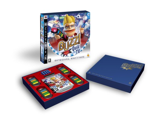 Buzz! Quiz TV Special Edition with Wireless Buzzers (PS3)