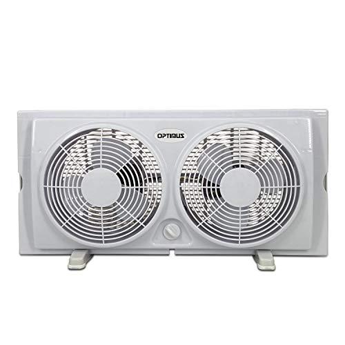 "Optimus F-5280 7"" Electric Fan, 7"", White"