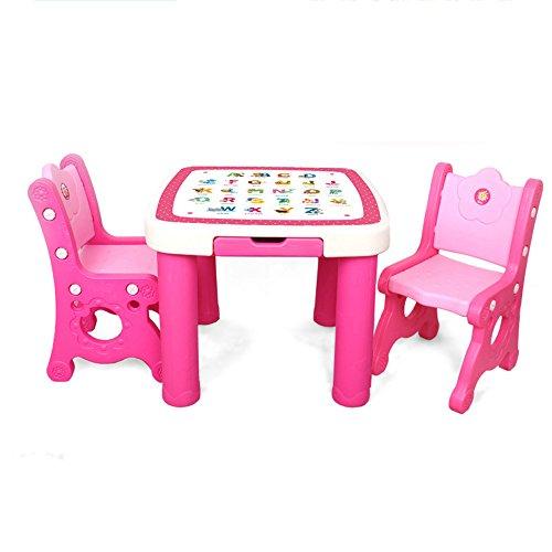 Reisbedden Brisk kindertafel en stoel, kleuterschool plastic babybureau, stoel, tekenen een leertabel,