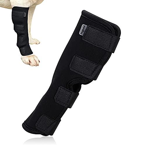 Bandage de compression pour pattes de chien - Pour protéger les plaies - Pour éviter les blessures et les entorses ou la marche - Taille XL