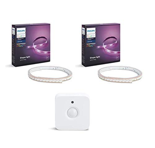 Philips Lighting Hue White and Color Lightstrip Strisce LED...