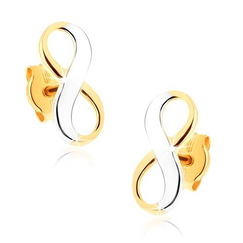ORDOŠ Diamonds® pendientes de oro bicolores...