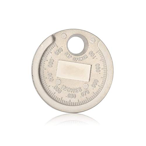 LYJUN 1 PC de Encendido de Chispa Gauge Un Gap Herramienta Calibre Herramienta de medición de divisas-Tipo 0.6-2.4mm Spark Rango A Gage Gap Herramienta de espesores