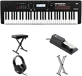 Korg Kross 2 61-key Essential Bundle