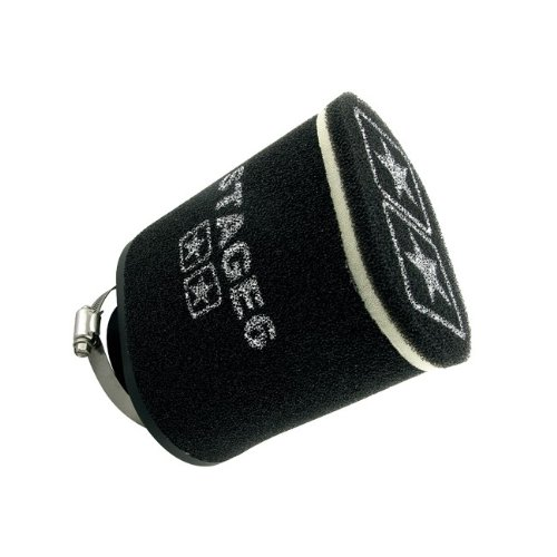 Racingluftfilter Stage6 Double-Layer Gross, AirBox schwarz, 70mm Anschluss