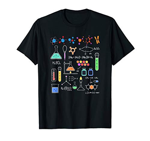 Physik Wissenschaft Mathematik Mathe Chemie Nerd Geschenk T-Shirt