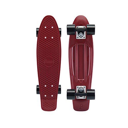 Penny Australia, 22 Inch Burgundy Penny Board, The Original Plastic Skateboard