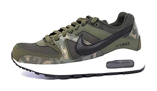 Nike Herren Air Max Command Flex Bg Sneakers, Mehrfarbig (Sequoia/Black/White 001), 40 EU