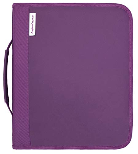 Crafter's Companion Folder-Large Die & Stamp Storage, us:one size, Purple