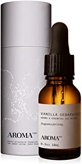 Vanilla Cedarwood Sage for Aroma Oil Scent Diffusers - 10 Milliliter