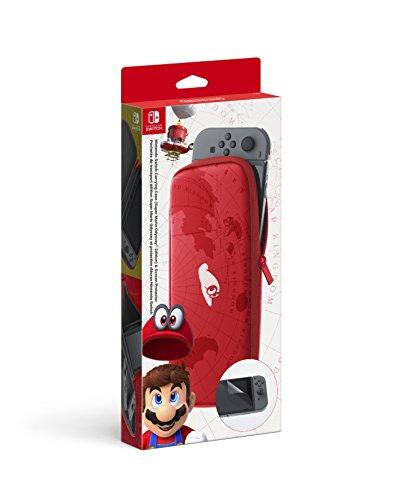 Nintendo Switch - Nintendo Tasche und  Display-Schutz (Super Mario Odyssey)