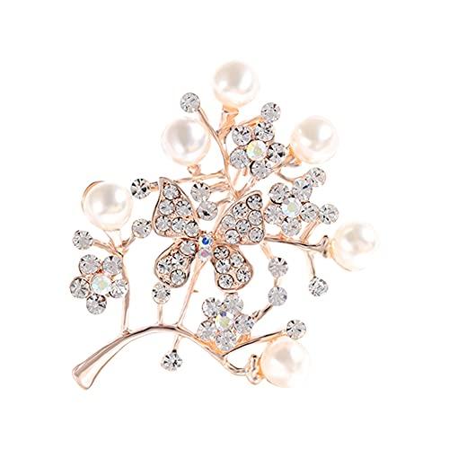 SUYANG Broche, Broche, Femmes Broche Pinfashion Alliage Fleur Animaux Forme Femmes Broche Décoration Bijoux (1998)
