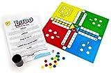 Kids Play - Ludo - Juego de mesa clásico | 2-4 jugadores | Juegos de mesa para niños | Ideal como juego familiar o para aprender | Edad 3+