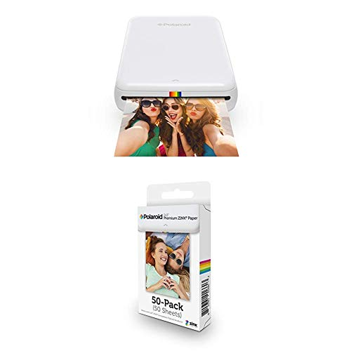 Why Should You Buy Polaroid ZIP Wireless Mobile Photo Mini Printer (White) with Polaroid 2x3ʺ Premi...