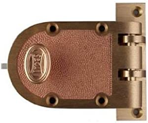 Segal Jimmy-Proof Bronze/Brass Dead Bolt Lock Flat Strike - SE15326 - Model 667