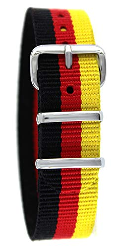 Pacific Time Nylon Uhrenarmband Deutschland 10037