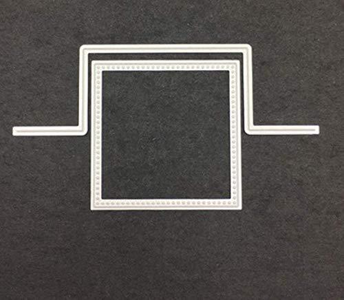 Rechte lijn Geometry DIY snijden mes mal koolstofstaal mes mal puzzel reliëf mes mal sjabloon die snijders voor kaart maken 13.5X7.2Cm