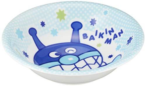 「 それいけ!アンパンマン 」 ばいきんまん カレー皿 17cm 子供用 食器 ブルー 081534