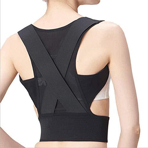 POSTURE Geradehalter Zur Haltungskorrektur rücken,die Korrektur der Rückenhaltung kann unsichtbar, leicht und atmungsaktiv Sein, geeignet für Männer/Frauen/Kinder,S